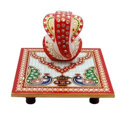 Marble Chauki Ganesha