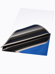 Mirror Surface Blue Color Stainless Steel Sheets