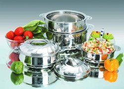 Stainless Steel Hot Casserole