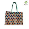 Jute Bag With One Colored Print