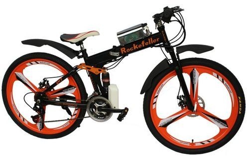e6df5dfc855 GOGOA1 Rockefeller Mountain Electric Bicycle Folding High Carbon Steel