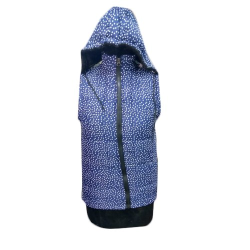 201bb829885 Blue Printed Girls Jacket