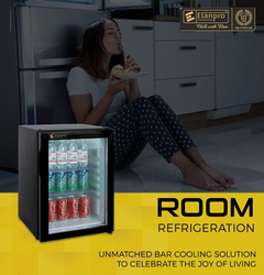 Mini Bar Glass Door Refrigerator