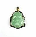 Pave Diamond Budhha Pendant