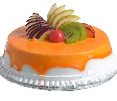 Round Mix Fruit Cake Birthday Cakes Cake N Gifts New Delhi ID