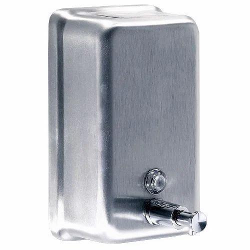 Manual Steel Soap Dispenser