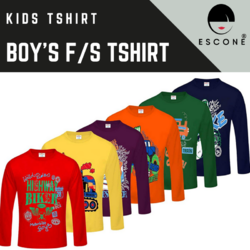 Escone 10 Kids Boy Full Sleeve T Shirt