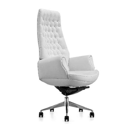 Comfortable White Executive Chair