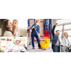 Housekeeping Manpower Service, Morning And Evening