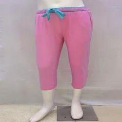Hosiery Casual Wear Kids Plain Capri