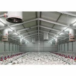 Steel Poultry Shed