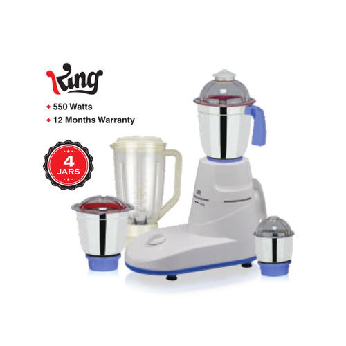 Juicers, Mixer Grinder Fortuner King Mixer Grinder, Less than 300 W