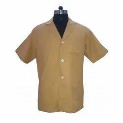 Apron Lab Coat Dr Coat Supervisor Coat Fawn Half Sleeve