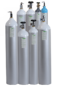Aluminium High Pressure Gas Cylinders