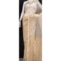Cotton Party Wear Masline Fancy Saree, With Blouse Piece
