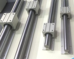 Linear Guide Rod With Aluminium Support