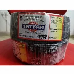 Satyam UnShielded 3 Core Cable