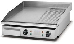 ARISE Stainless Steel Hot Plate Half Grooved, Packaging Type: Box