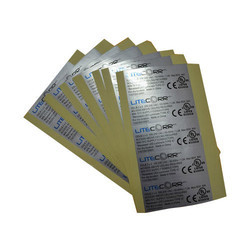 Silver Foil Stickers