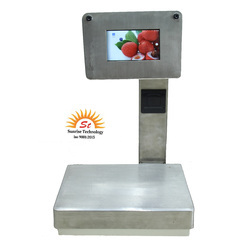 30 Kg Touch POS Scale 7 inch