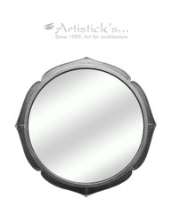 White Metal Mirrors
