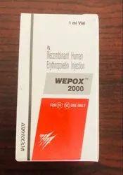 Wepox 2000IU Injection