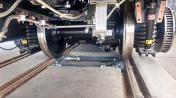 Metro Rail Wheel Balancing & Weighing System