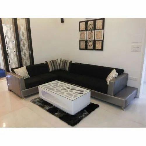 Modern L Shape Corner Sofa Set For