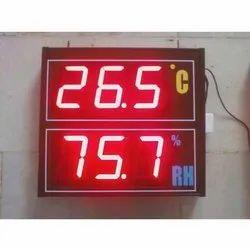 Temperature & Humidity Display