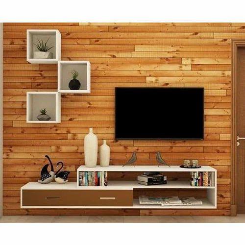 Living Room TV Unit, डिजाइनर टीवी यूनिट - Interio ...