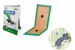 Glue Pad Houseflies DeoDap PCI Cardboard Troublegum Mouse Trap, Packaging Type: Box