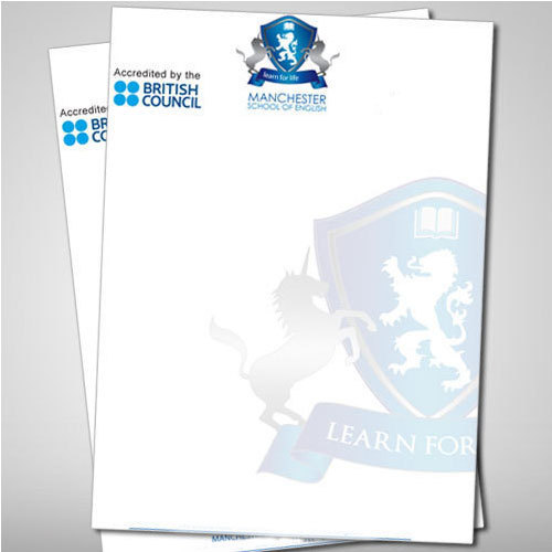 school letterhead at rs 450 100piece id 14476697612