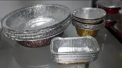 Aluminum  Bowl Container With Lid