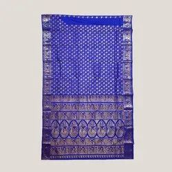 Swarnachari Royal Blue Saree
