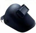 Weldcor Plain Black Welding Helmet, Height: 2 X 4.5 Inches, Weight: Approx 250 Grams