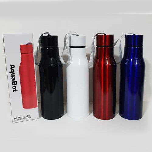 8fdbcb521c Black, White, Red And Blue Stainless Steel Water Bottle, 7 X 7 X ...