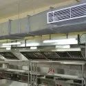 Gulf Stainless Steel Commercial Kitchen Duct For Office, Industrial