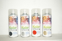KOLOR SPRAY Acrylic Spray Paint, Packaging Type: Can, for Heat Resistant