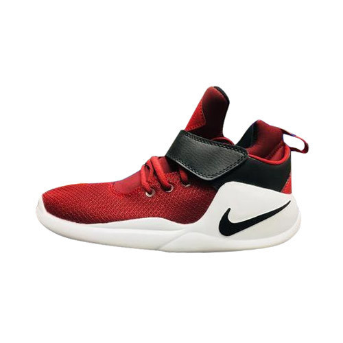 White , Red Nike High Ankle Shoes, Size: 6, 7, 8,