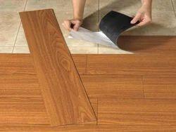 100 Sq Ft PVC Flooring Services, Corporate Building
