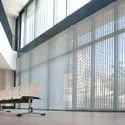 Pvc Window Motorized Vertical Blinds, For Office, Hotel, Packaging Type: Roll