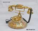 Brass Golden Telephone Instrument, Size: Regular