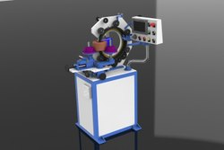 Toroidal Coil Winding Machine(Gear Head),Model :CT250 Floor Mounting
