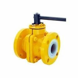 MS PTFE Lined Ball Check Valve