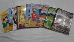 4至6年的Jr.K.G.与您的学校名称和徽标的书籍