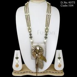 Fusion Indo Western Necklace Set