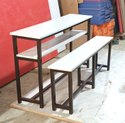 Bench Desk For High School