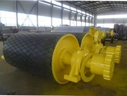 Belt Conveyor Head Pulley