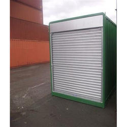Movable Shop Cabin With Rolling Shutter