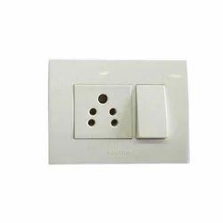 White Anchor Penta Modular Switches